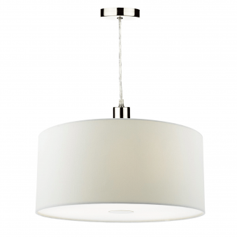 Ronda Small Pendant Shade in White
