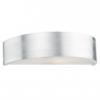 Sarasota Matt Aluminium Wall Light