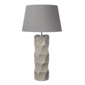 Sintra Taupe Ceramic Table Lamp Base