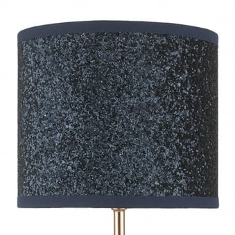 Spare Shade For Bistro Navy Blue Glitter Table Lamp