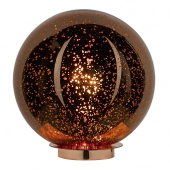 Speckle Electroplated Copper Table Lamp