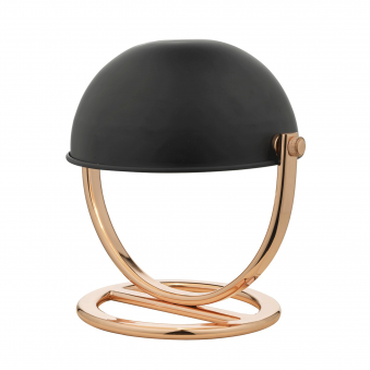 Ubeda Copper and Black Desk Lamp