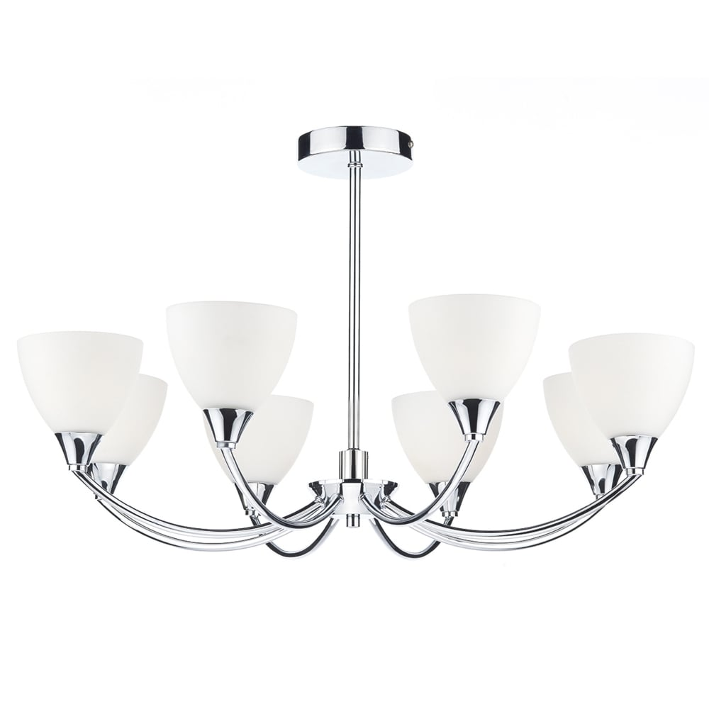 Dar lighting watson eight arm semi flush led ceiling light fitting watson eight arm semi flush led ceiling light aloadofball Image collections