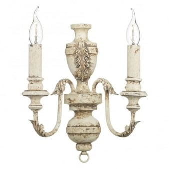 Emile Wall Light in Rustic French