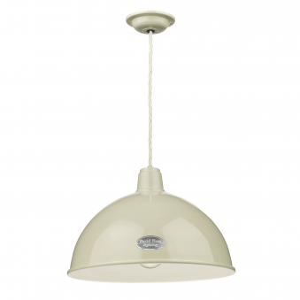 Groucho Pendant in French Cream Gloss