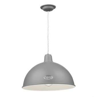 Groucho Pendant in Lead Grey