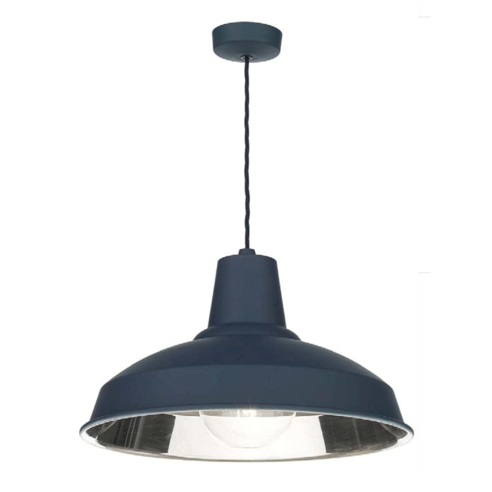 blue pendant lighting. reclamation smoke blue pendant light lighting p