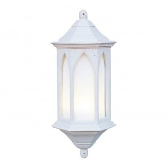 York Stone Finish Exterior Wall Lantern