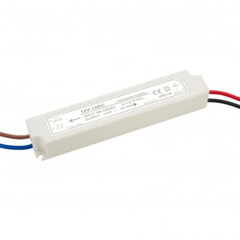 12w Powerdriver 12v DC Constant Voltage IP67 Prewired and Sealed