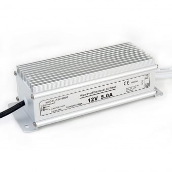 60w Powerdriver 12v DC Constant Voltage IP67 Prewired and Sealed