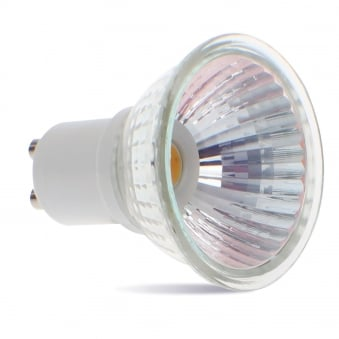 GU10 4w LED 408 Lumen Warm White Equiv 50w Dimmable Lamp