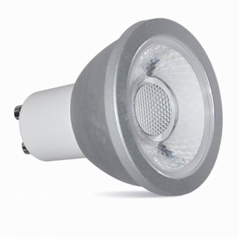GU10 7w LED Ultra Bright 570 Lumen Warm White Dimmable Lamp