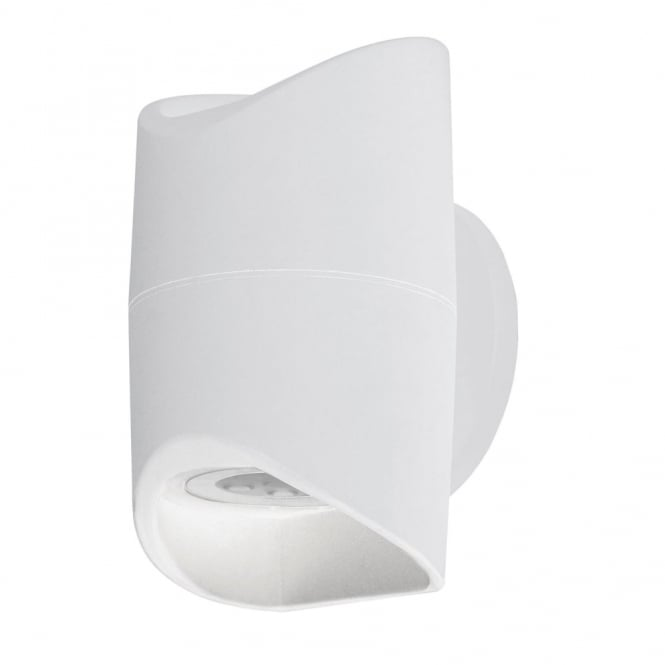 Eglo Abrantes LED IP44 Outdoor Wall Light in White