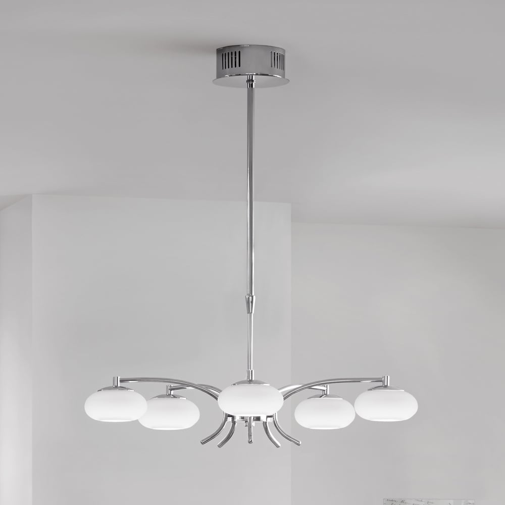 eglo 91753 aleandro led opal glass pendant light. Black Bedroom Furniture Sets. Home Design Ideas