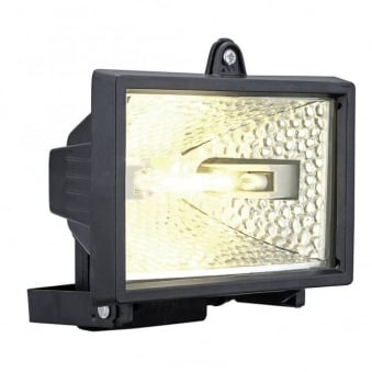Alega Black 400w R7 IP44 Security Light
