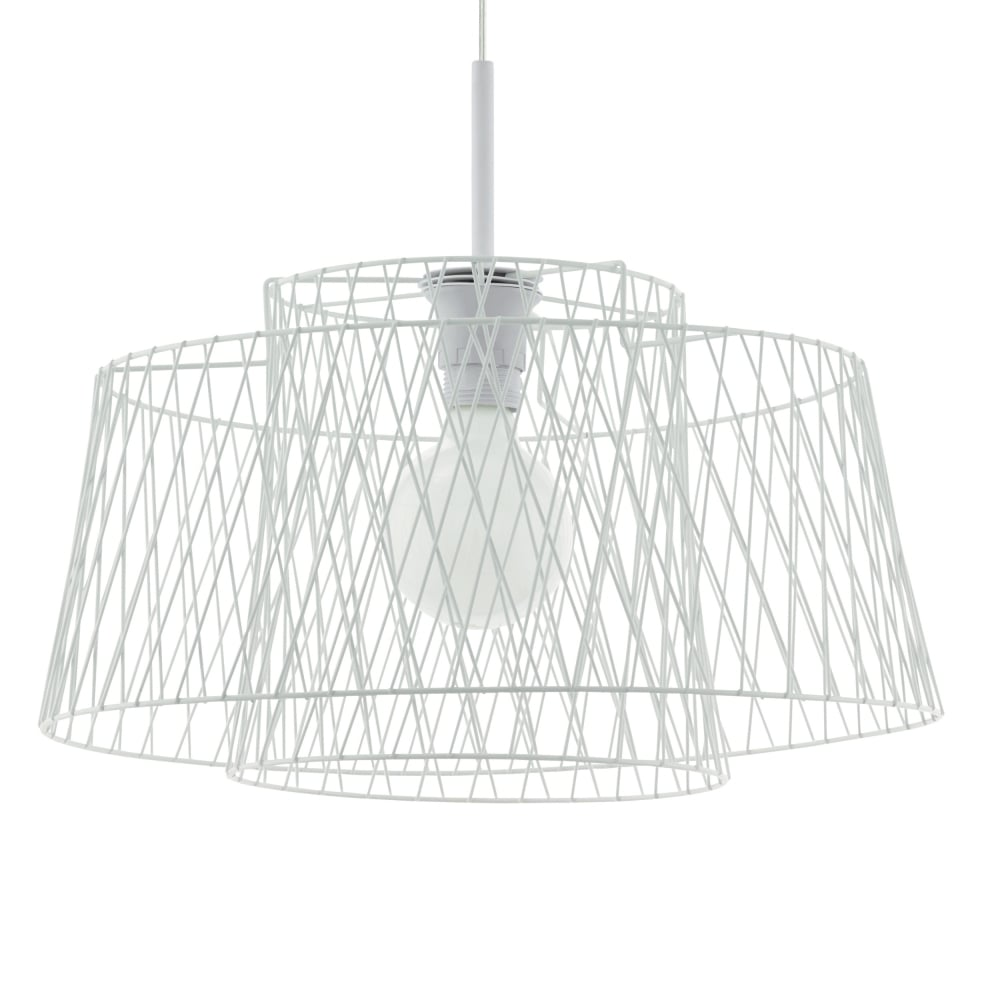 Eglo 49995 Allerby LED Wire Cage Pendant Light