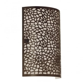 Almera Wall Light in Antique Brown