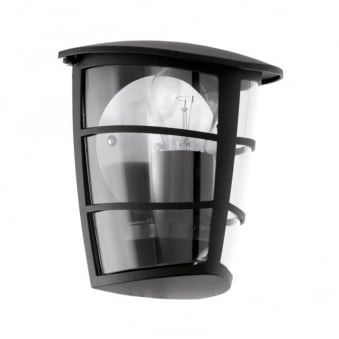 Aloria Black IP44 Exterior Cast Aluminium Wall Light