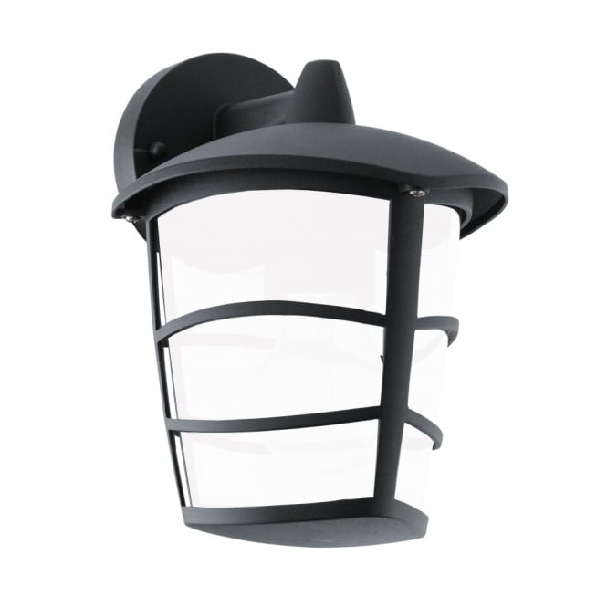 Eglo Aloria LED Black IP44 Exterior Cast Aluminium Down Wall Light