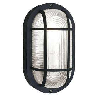 Anola IP44 Outdoor Wall or Ceiling Light in Black