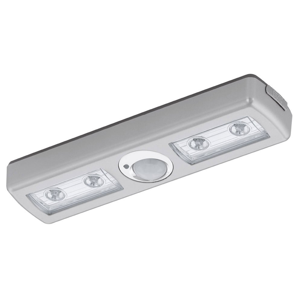 Eglo 94686 baliola 4 led pir battery operated under - Battery operated kitchen cabinet lights ...