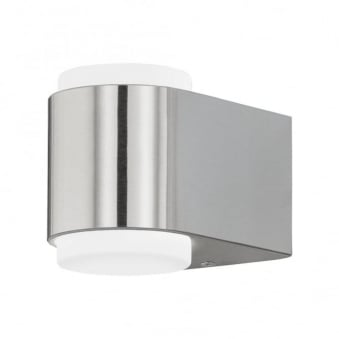 Briones LED Outdoor Wall Light in Stainless Steel