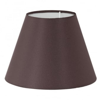 Brown Tapered Drum Shade