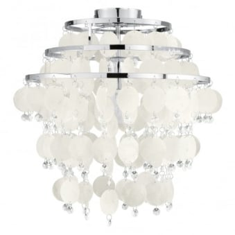 Chipsy Mother of Pearl Ceiling Light