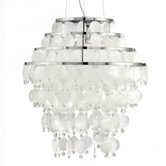 Chipsy Mother of Pearl Large Pendant Light