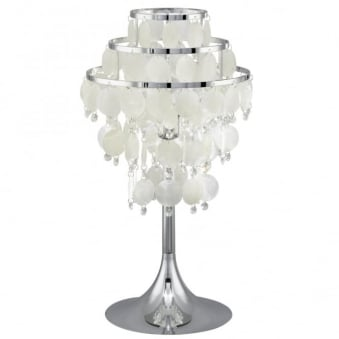 Chipsy Mother of Pearl Table Lamp