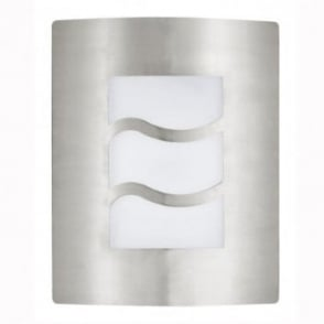 Eglo City 1 Outdoor IP33 Stainless Steel Wall Light