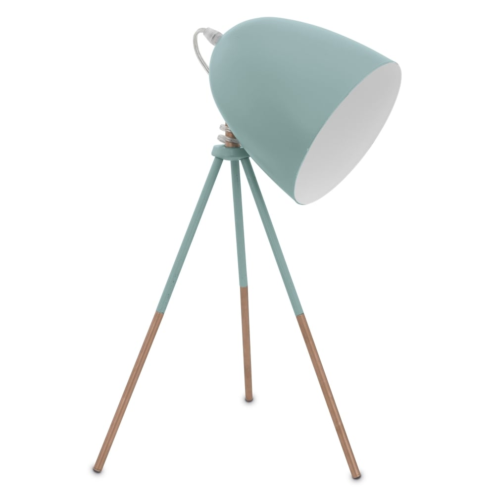 dundee mint tripod table lamp