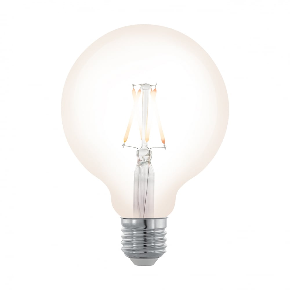 Beautiful E27 4w LED Dimmable G95 Large Globe 2200 Kelvin Filament Lamp