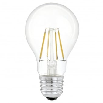 E27 4w LED Filament 350 Lumen Equiv 31w Lamp