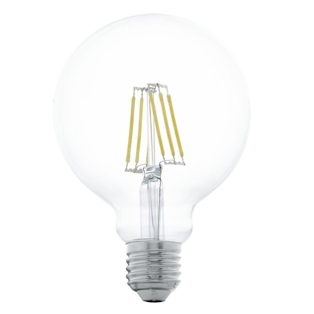 eglo 11503 e27 es 6w clear led filament lamp. Black Bedroom Furniture Sets. Home Design Ideas