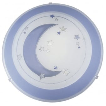 Eglo Speedy Moon and Stars Wall and Ceiling Childrens Light