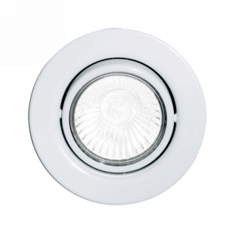 Einbauspot GU10 Adjustable Spotlight in White