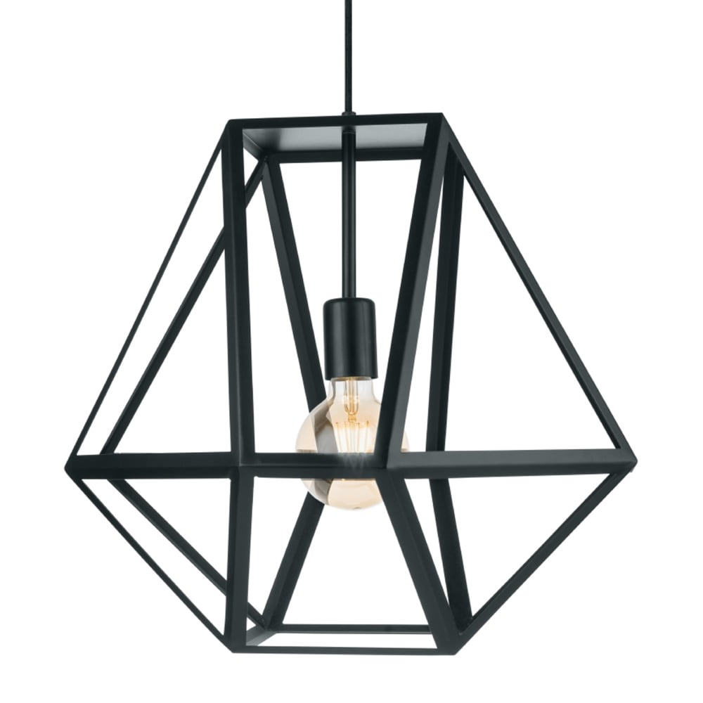 midi pendant image geometric black contemporary copper and ceiling in