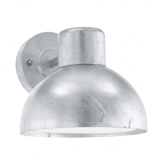 Eglo Entrimo Outdoor IP44 Galvanized Steel Wall Light
