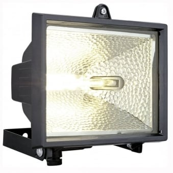 **EX-DISPLAY** Alega Black 120w R7 IP44 Security Light