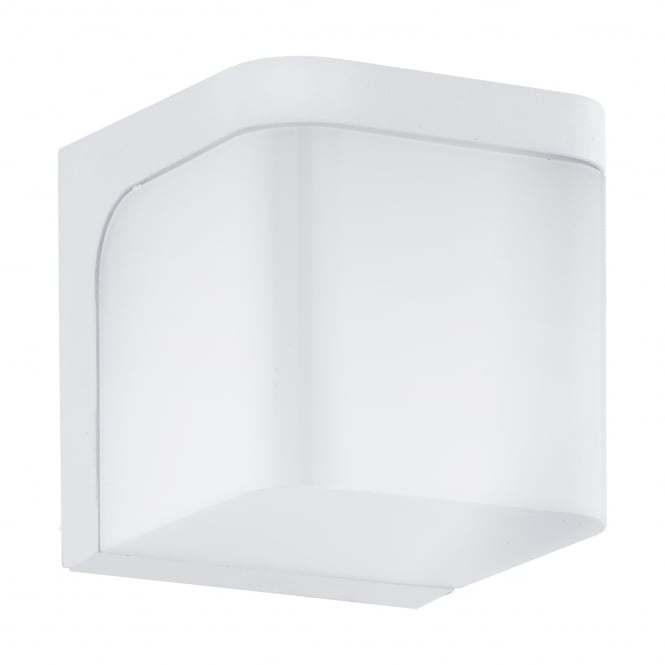 Eglo Jorba IP44 LED Outdoor Wall Light in White