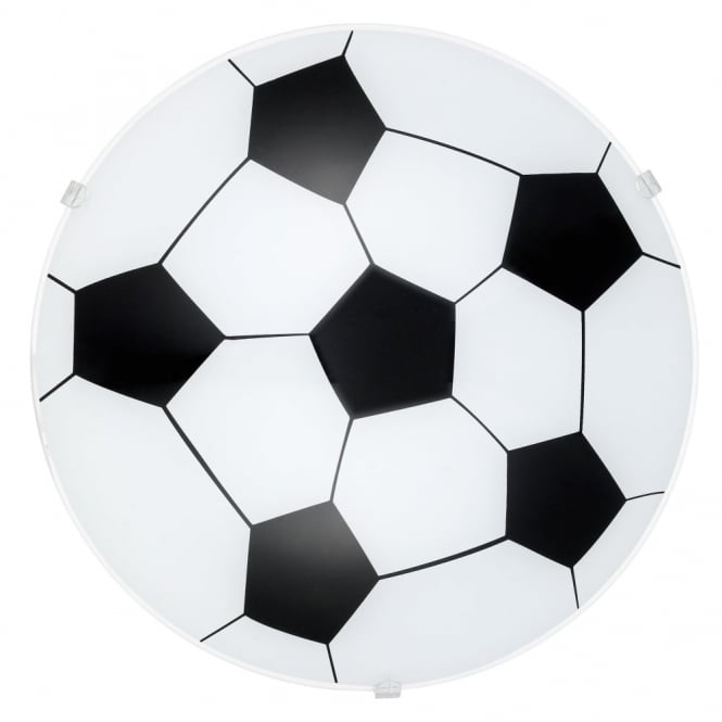 Eglo Junior Football Wall and Ceiling Childrens Light
