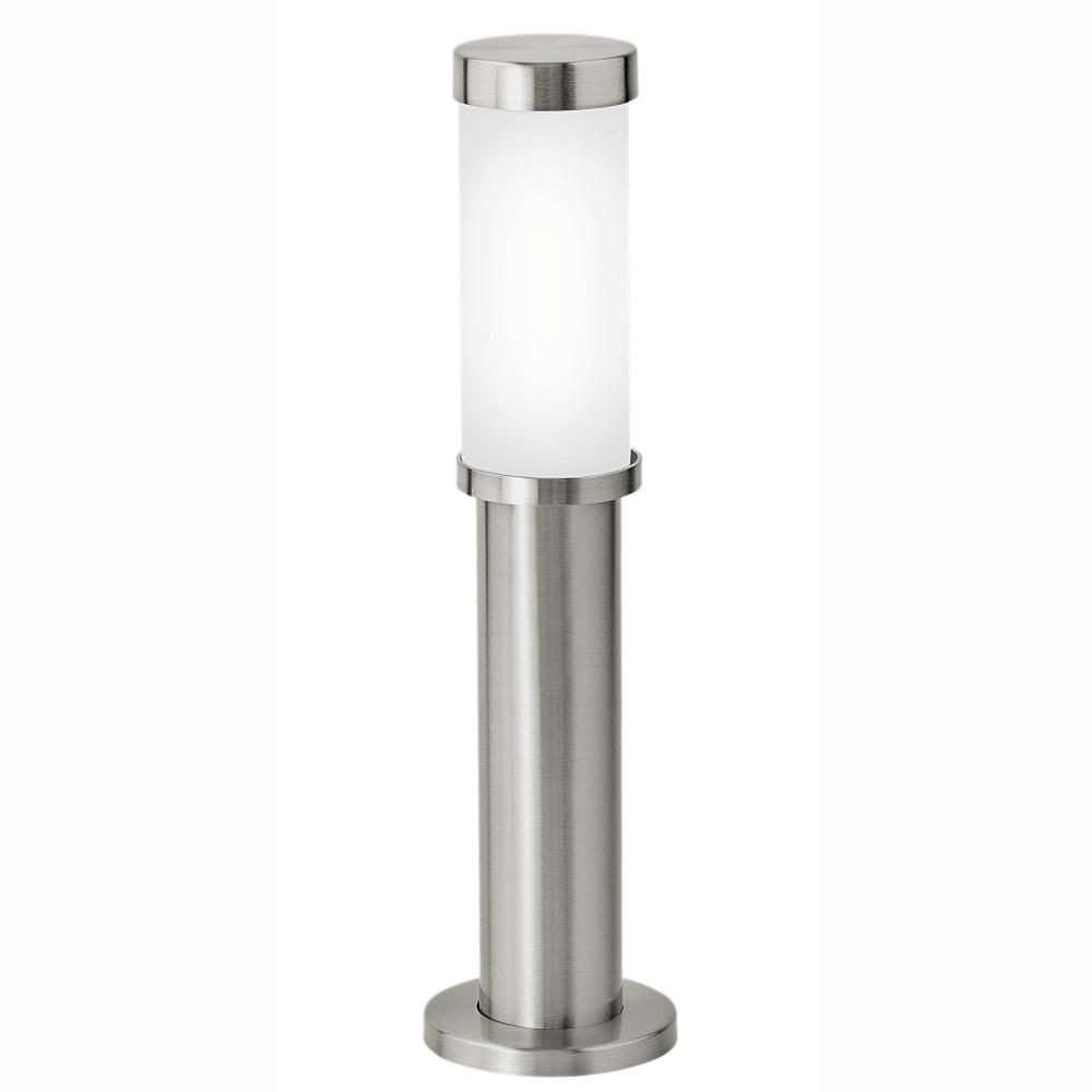 Eglo 86248 Konya Exterior IP44 Stainless Steel Pedestal Light