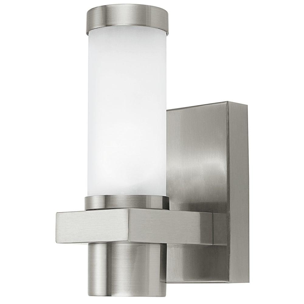 Eglo Konya Exterior Stainless Steel Wall Light - Fitting Type from Dusk Lighting UK