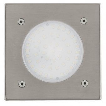 Lamedo Square IP65 LED Stainless Steel Recessed Ground Light