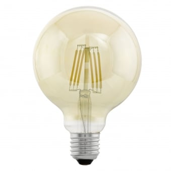 Large Globe Shaped 4w LED Filament Lamp