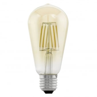 Large Pear Shaped 4w LED Filament Lamp