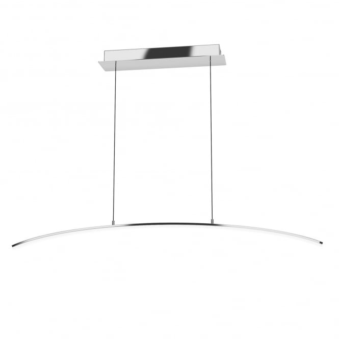 Eglo Lasana LED Bar Pendant in Chrome