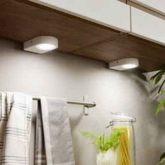 Lavaio White Set of 2 Under Cabinet Lights