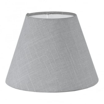 Linen Grey Tapered Drum Shade